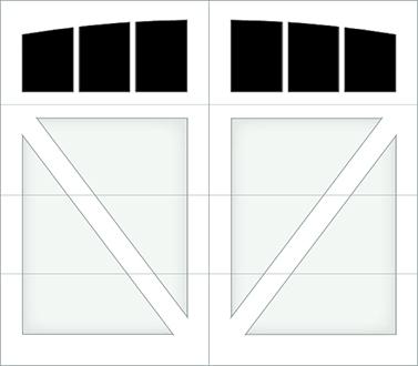 DV03A - Single Door Single Arch