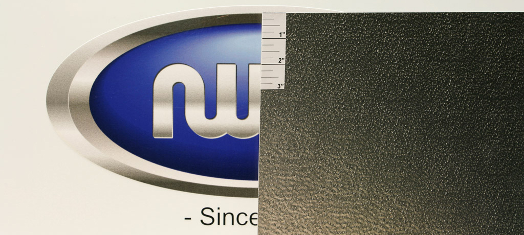 ".040"" Thick, Mill Finish Stucco Embossed Aluminum"