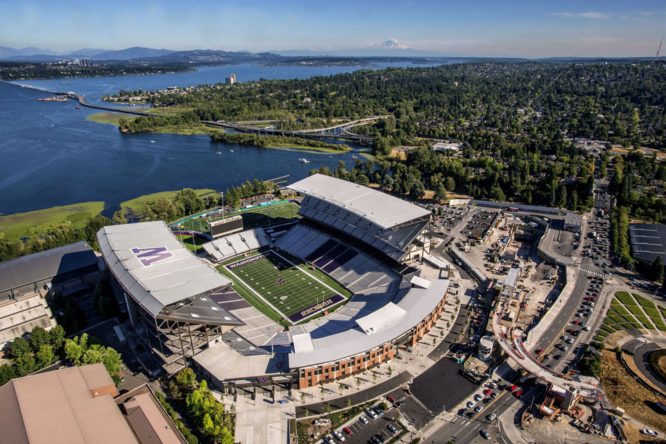 Husky Stadium Commercial Project