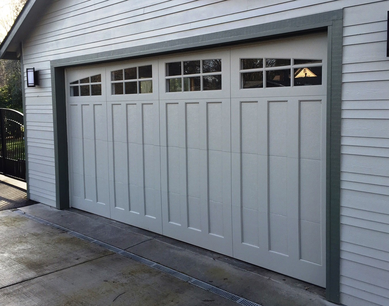 installed rib oxfordshire sectional door large garage in elite doors pin by ral