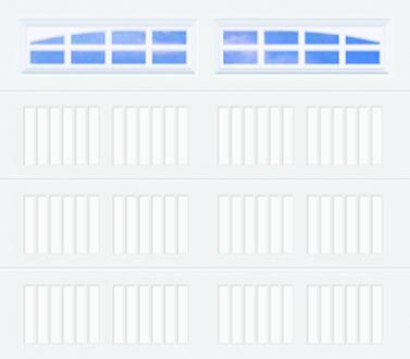 20C Carriage Panel - Heritage - Single Door