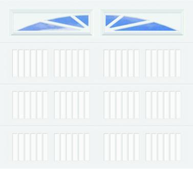 20C Carriage Panel - Williamsburg - Single Door
