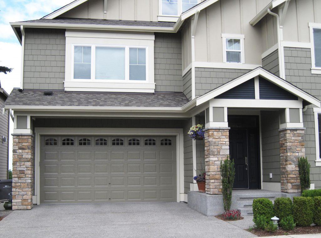 Therma tech traditional panel cascade northwest door for 16x7 insulated garage door