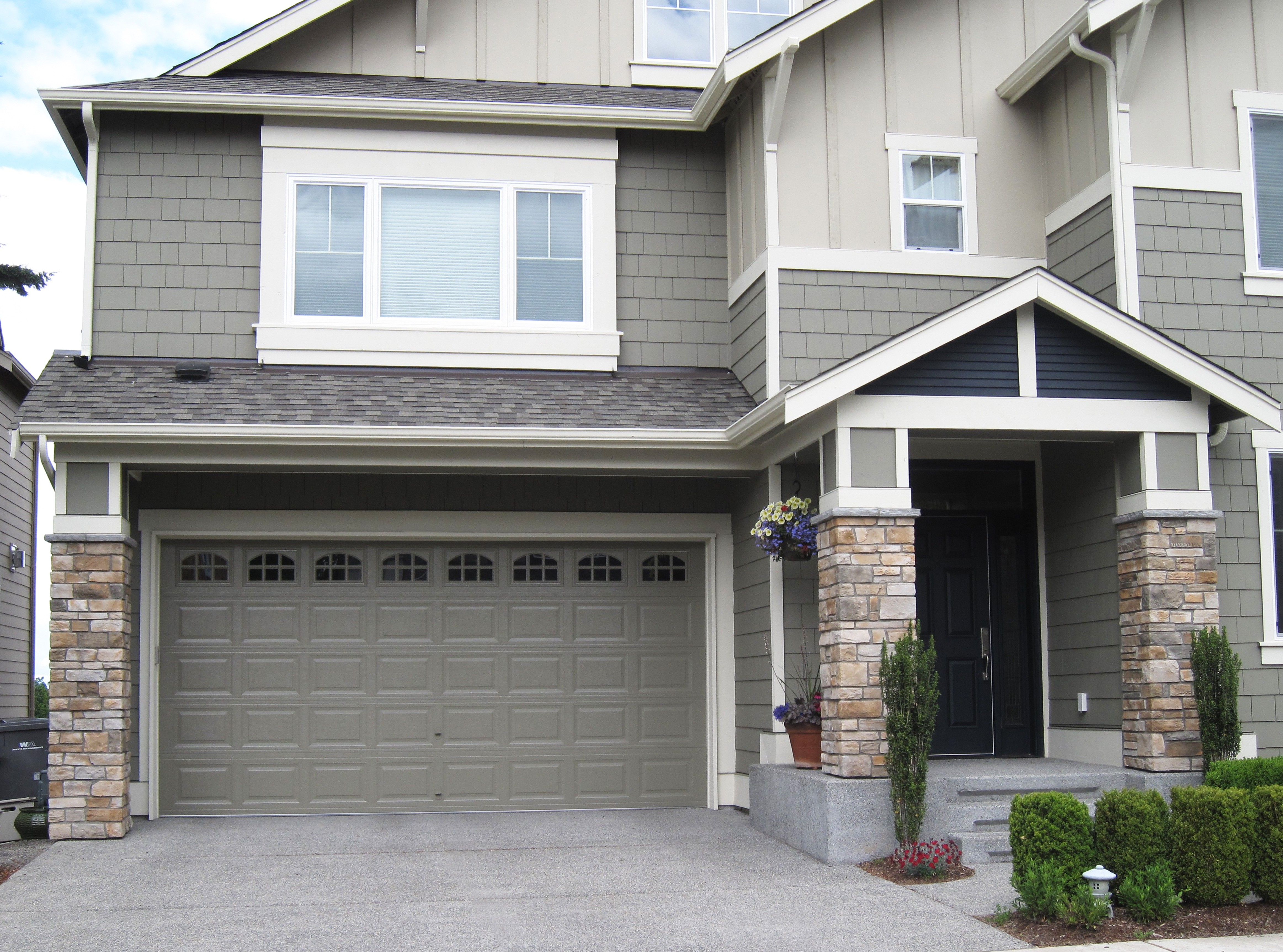 3450 #4A5F2F Therma Tech Traditional Panel Cascade Northwest Door Canada Ltd save image Wayne Dalton Insulated Garage Doors 38374650