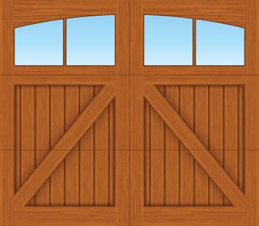 CA02A - Single Door Single Arch