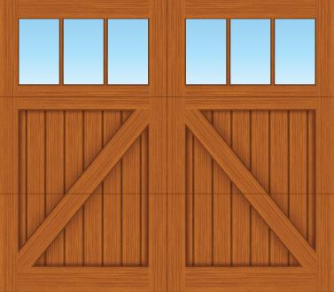 CA03S - Single Door