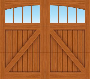 CA04A - Single Door Single Arch