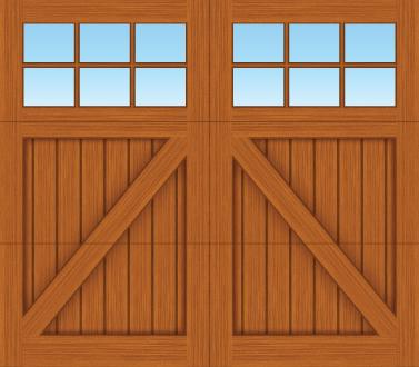 CA06S - Single Door
