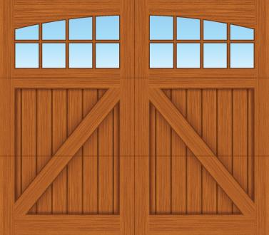 CA08A - Single Door Single Arch