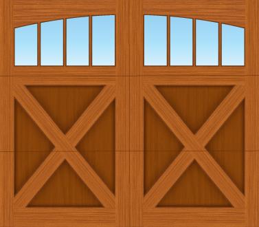 EX04A - Single Door Single Arch