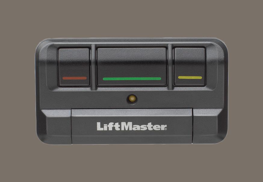 LiftMaster 813LM Three-Button Remote Control