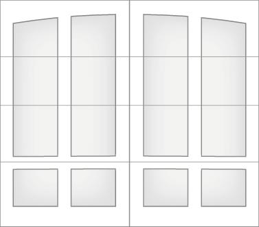 D1L0A - Single Door Single Arch