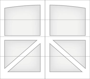 DAM0A - Single Door Single Arch