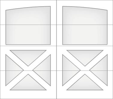 DXM0A - Single Door Single Arch