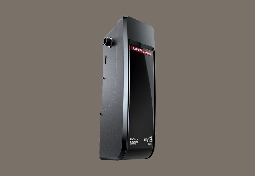 Light-Duty Commercial Door Operator for Sectional Doors