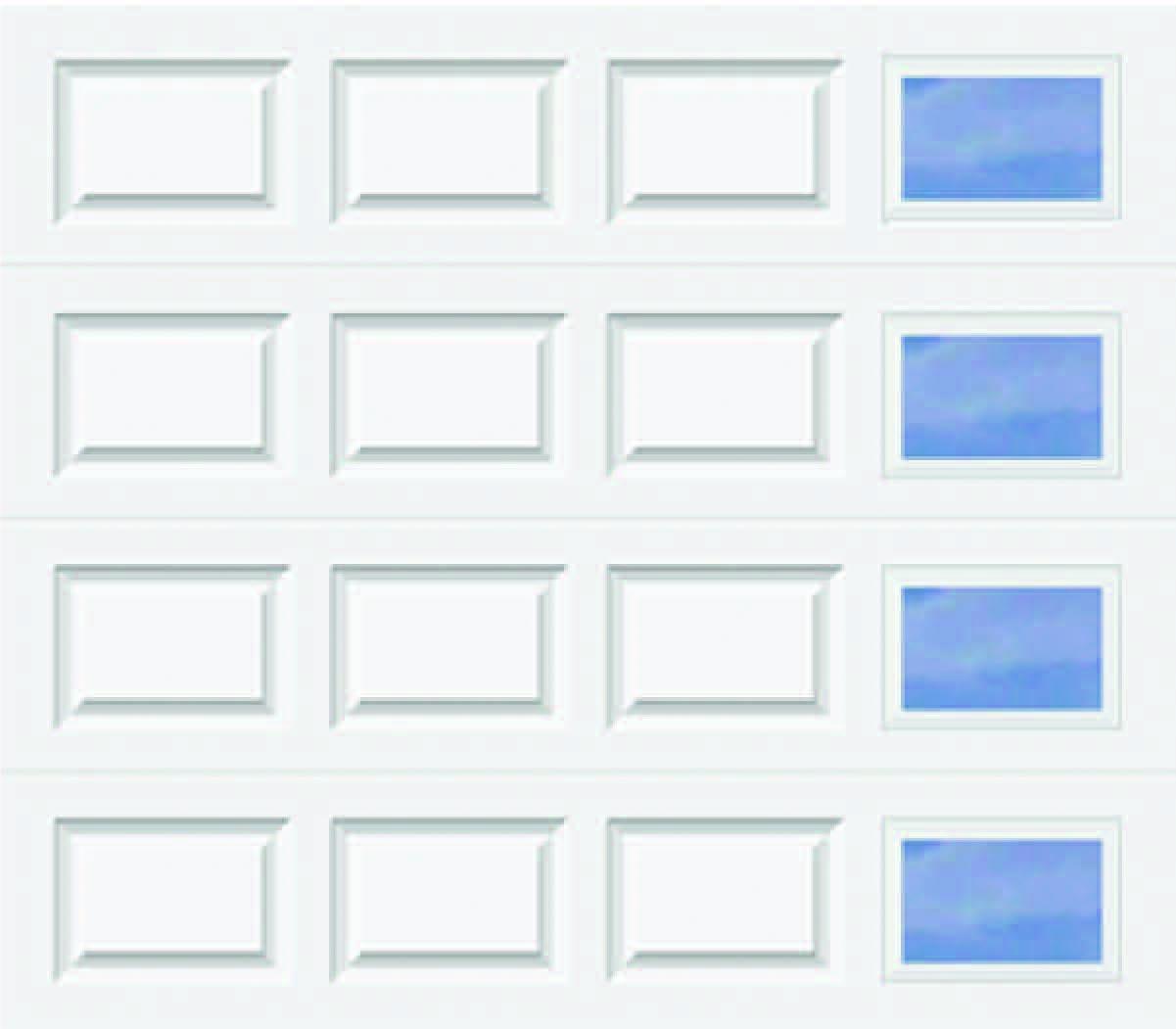 618 Traditional - Modern Lite T RH - Single Door
