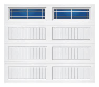 Model 50G Cottage - Prairie - Single Door