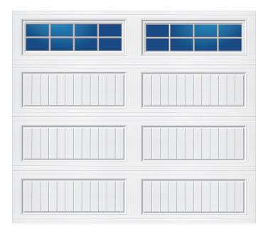Model 50G Cottage - Stockton - Single Door