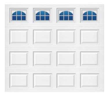 Model 501 Traditional - Cascade - Single Door