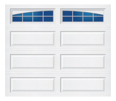 Model 228 TM Ranch - Arched Stockton - Single Door