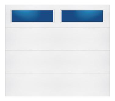 Model 108 Contemporary - Plain Lite TR - Single Door