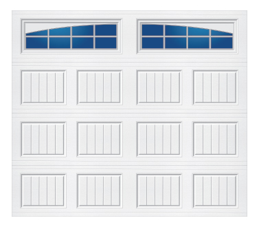 Model 20C Carriage - Arched Stockton - Single Door