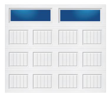 Model 20C Carriage - Plain Lite - Single Door