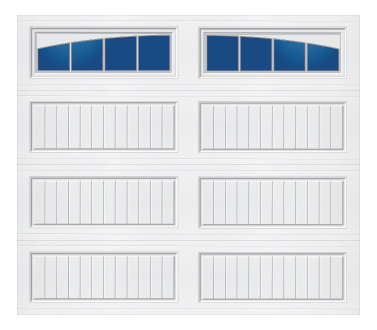 Model 20G Cottage - Arched Stockbridge - Single Door