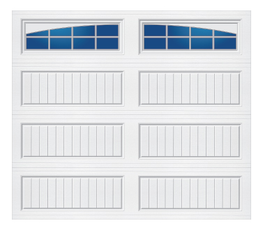 Model 20G Cottage - Arched Stockton - Single Door
