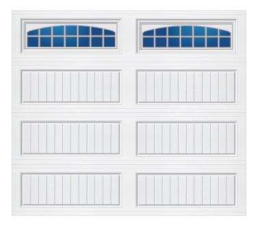 Model 20G Cottage - Cascade - Single Door
