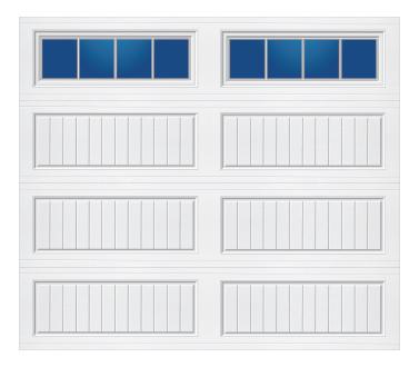 Model 20G Cottage - Stockbridge - Single Door