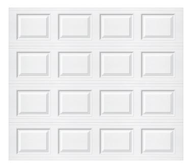 Model 218 Traditional - Plain - Single Door