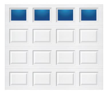 Model 618 Traditional - Plain Lite - Single Door