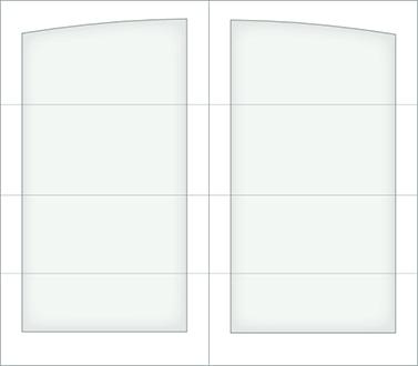 D000A - Single Door Single Arch