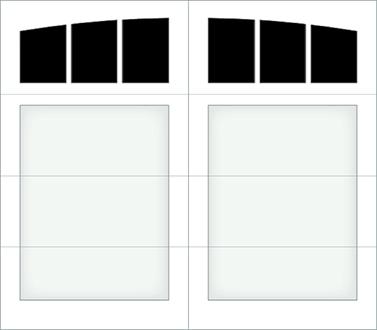 D003A - Single Door Single Arch