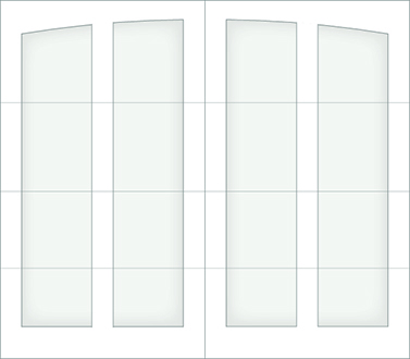 D100A - Single Door Single Arch