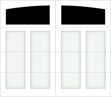 D101S - Single Door Single Arch
