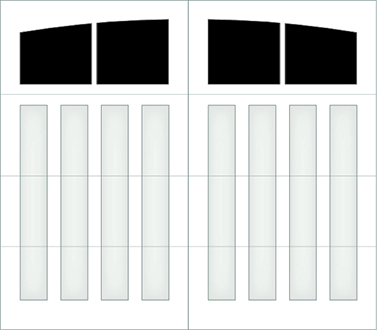 D302A - Single Door Single Arch