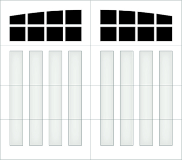 D308A - Single Door Single Arch