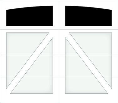 DA01A - Single Door Single Arch