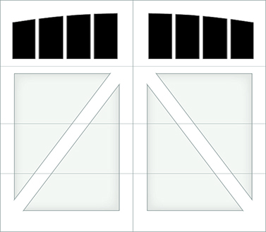 DA04A - Single Door Single Arch