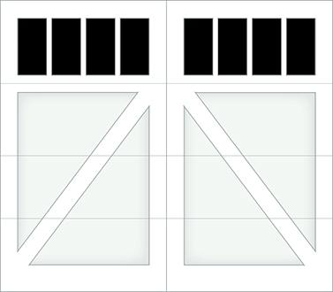 DA04S - Single Door