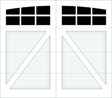 DA06A - Single Door Single Arch