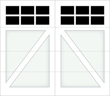 DA06S - Single Door