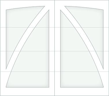 DB00A - Single Door Single Arch