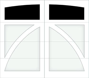 DB01A - Single Door Single Arch