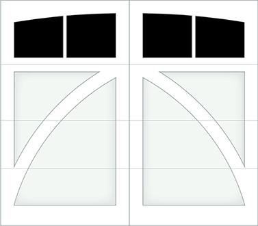 DB02A - Single Door Single Arch