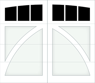 DB03A - Single Door Single Arch
