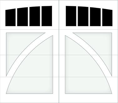 DB04A - Single Door Single Arch