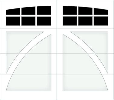 DB06A - Single Door Single Arch